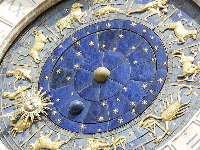 Часы со знаками зодиака