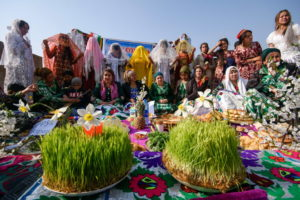 Holiday of Nowruz celebrated in Tajikistan